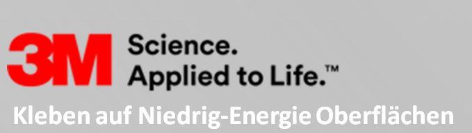 Kleben Auf niedrig energieoberflächen
